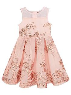 62d4f9b3b Baker by Ted Baker Girl Sequin Occasion Dress