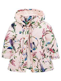 0bb453a4e Baker by Ted Baker Toddler Girls Floral Swing Mac - Pale Pink