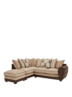highland-faux-snakeskinfabric-left-hand-scatter-back-corner-chaise-sofa