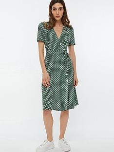 monsoon-monica-print-button-midi-dress-green