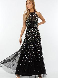 monsoon-annie-embellished-floral-maxi-dress-black