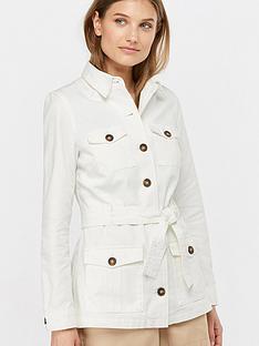 monsoon-dima-belted-denim-jacket-ecru