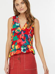 monsoon-moana-print-tank-top-red
