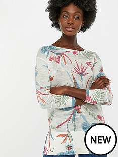 monsoon-octavia-print-linen-blend-jumper-nude