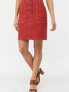 monsoon-ania-denim-skirt-red