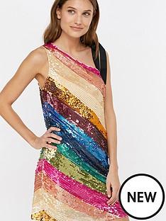 monsoon-miki-stripe-sequin-short-dress