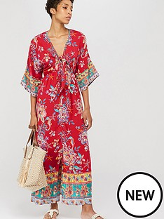 monsoon-ariel-tie-front-maxi-dress-red