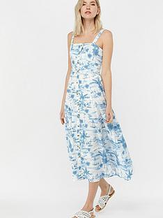 monsoon-bobby-boat-print-poplin-sun-dress-blue