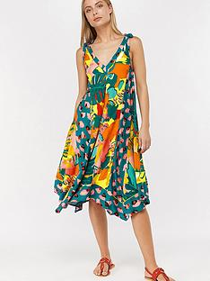 monsoon-veradero-print-hanky-hem-dress-teal