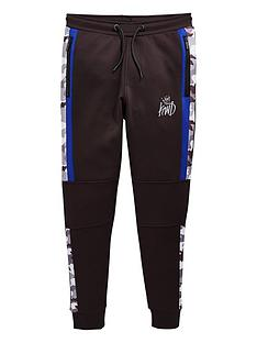 kings-will-dream-boys-mert-blue-camo-jog-pants-black