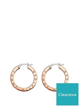 tommy-hilfiger-rose-gold-crystal-set-ladies-hoop-earrings