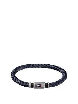 tommy-hilfiger-rivet-detail-leather-bracelet