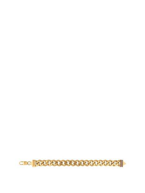 tommy-hilfiger-gold-plated-curb-bracelet