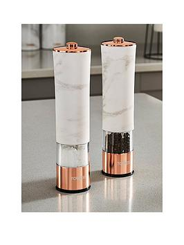 tower-marble-rose-gold-edition-electric-salt-and-pepper-mill