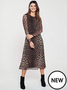 v-by-very-leopard-mesh-dress-print