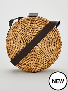 v-by-very-pascal-round-bamboo-cross-body-bag-natural