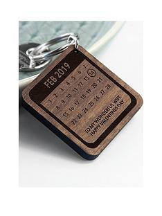 personalised-a-day-to-remember-wooden-keyring