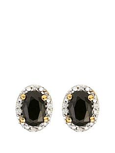 love-gem-9ct-gold-black-sapphire-and-diamond-set-stud-earrings