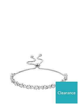 the-love-silver-collection-sterling-silver-cubic-zirconia-kiss-toggle-bracelet