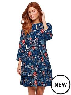 joe-browns-joe-browns-alluring-peacock-layered-dress