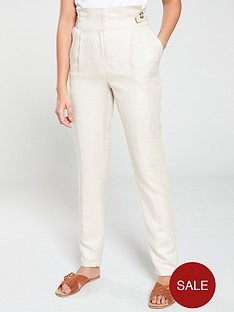v-by-very-linen-tapered-leg-trouser-natural