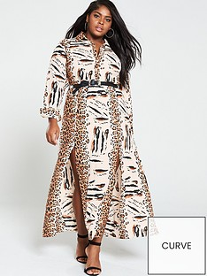 ax-paris-curve-maxi-shirt-dress-animal-print