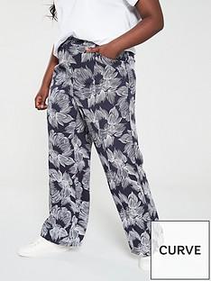 monsoon-curve-chelsea-printed-wide-leg-trouser-navy