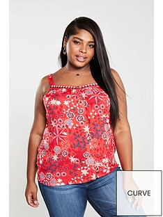 monsoon-curve-diego-mixed-print-cami-red