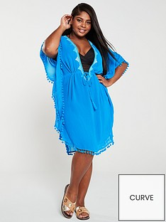 monsoon-curve-andrea-beach-kaftan-blue