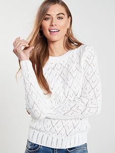 v-by-very-pointelle-stitch-detail-jumper-white