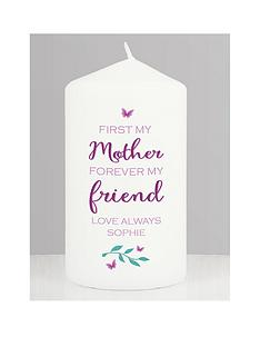 personalised-first-my-mother-forever-my-friend-candle