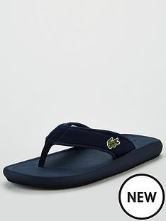 lacoste-croco-sandal-navy