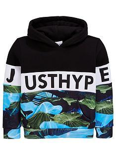 hype-boys-lillypad-block-hoodie-multi