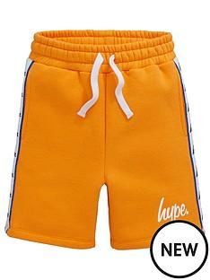 hype-boys-taped-jog-shorts-orange