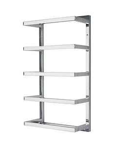 lloyd-pascal-5-tier-chrome-wall-towel-rail-ndash-square-tube