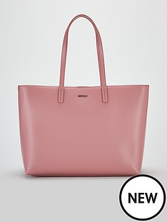 boss-downtown-large-leather-tote-bag-pink