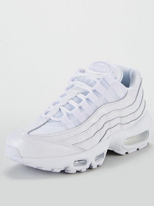 nike air max 95 on feet bianca