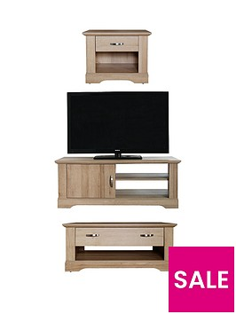 cornwall-3-piece-package-ndash-tv-unit-coffee-table-and-lamp-tablenbsp--oak-effect