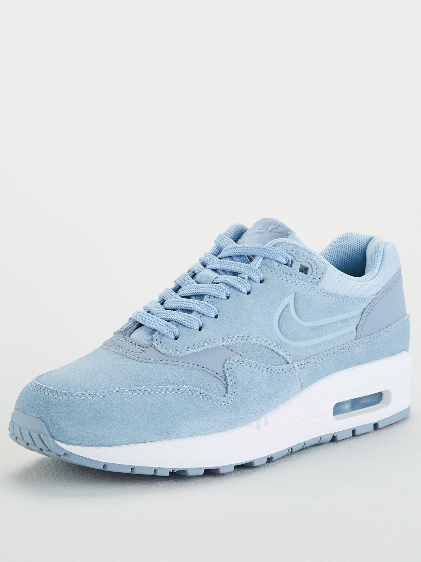 Nike Light Blue Paris City Collection Air Max 1 Ultra Trainers | Womenswear | Liberty.co.uk