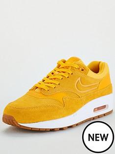 best service 62fd1 ebee6 Nike Air Max 1 Premium - Gold White