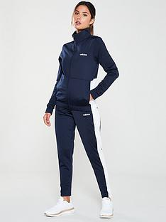 adidas-plain-tracksuit-navynbsp