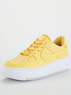 buy popular 987d2 4ed12 Nike AF1 Sage Low - Yellow White