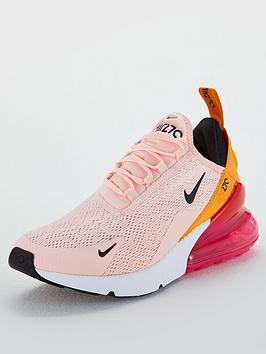 quality design 5bb57 ce545 Nike Air Max 270 - Coral/Pink | littlewoodsireland.ie