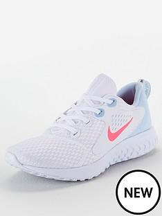 d87d39767ffb Nike Legend React - White Pink Blue