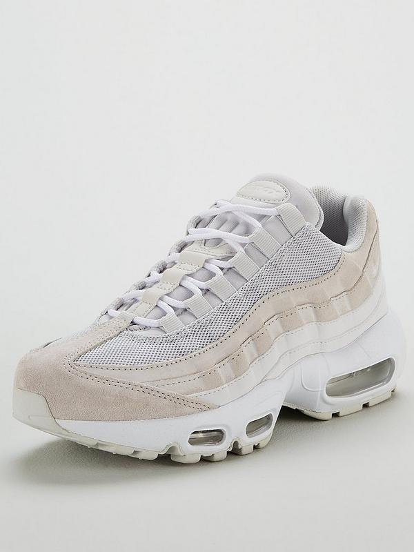 nike air max 95 lovely pink grey bianca trainer