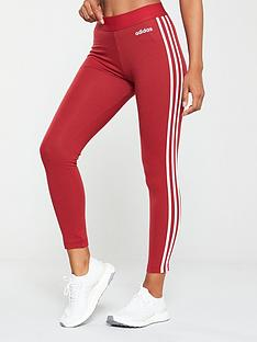 adidas-essential-3s-tight-maroon