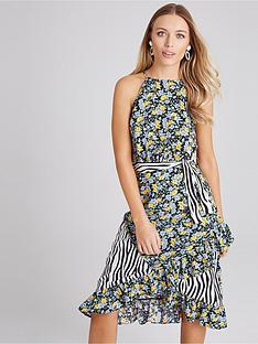 girls-on-film-girls-on-film-print-mix-belted-midi-dress