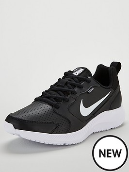 on sale 48fbe 0901f Nike Todos Leather - Black