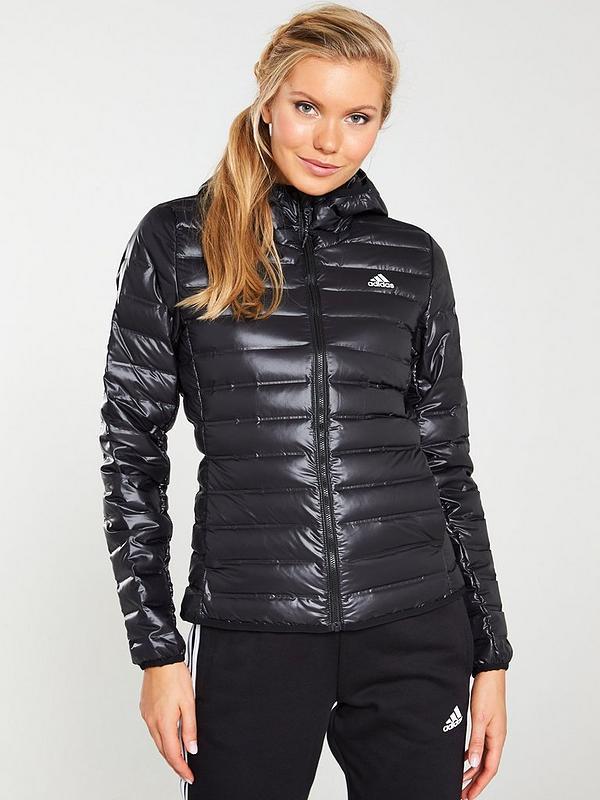 best online first look uk cheap sale Varilite Hooded Padded Jacket - Black