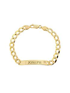 love-diamond-personalised-9ct-gold-13-oz-diamond-set-curb-id-bracelet